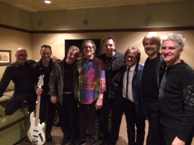 """Backstage with Gary Lewis & his band and Jamie & Woody from Gary Puckett & The Union Gap on Feb 26"""